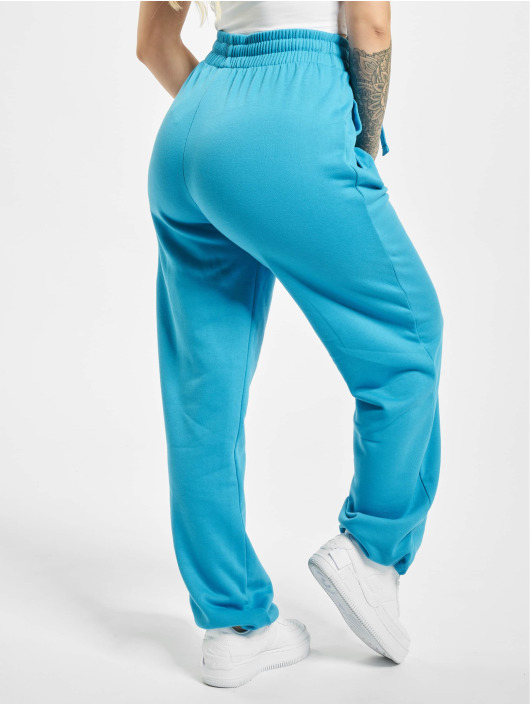 Urban Classics Spodnie do joggingu Loose Fit turkusowy
