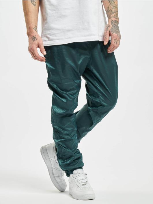 Urban Classics Spodnie do joggingu Jacquard zielony