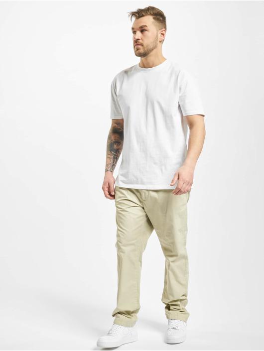 Urban Classics Spodnie wizytowe Straight Leg bezowy
