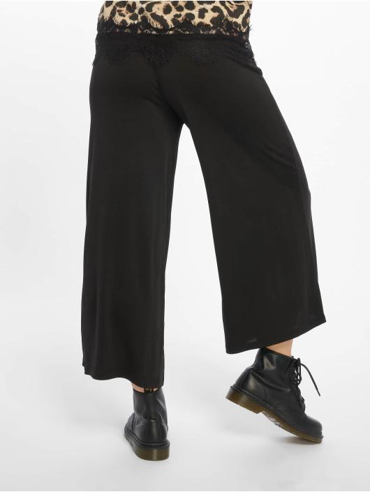 Urban Classics Spodnie wizytowe Modal czarny