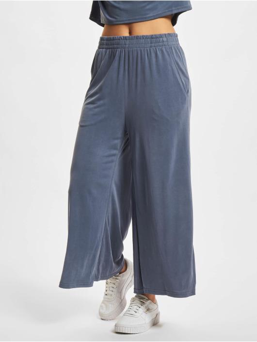 Urban Classics Spodnie wizytowe Modal niebieski