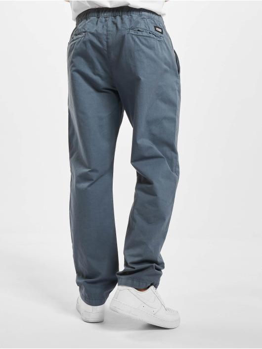 Urban Classics Spodnie wizytowe Straight Leg niebieski