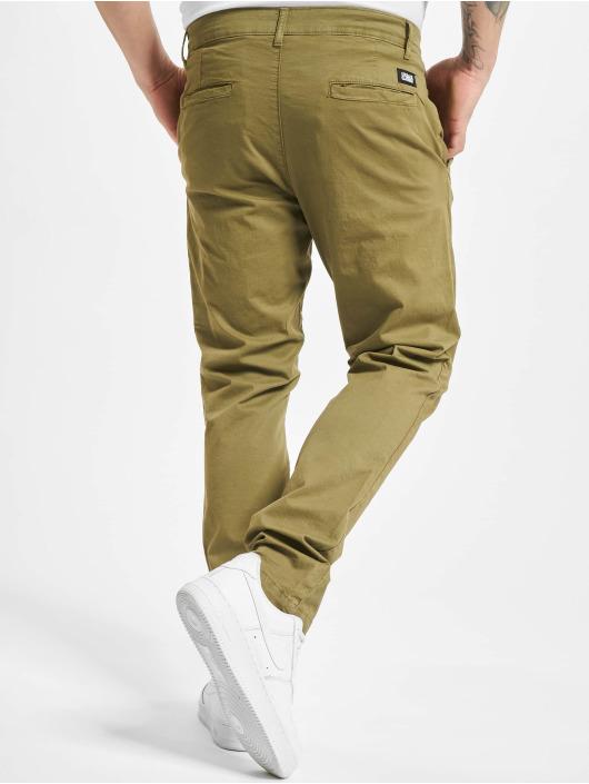 Urban Classics Spodnie wizytowe Performance oliwkowy