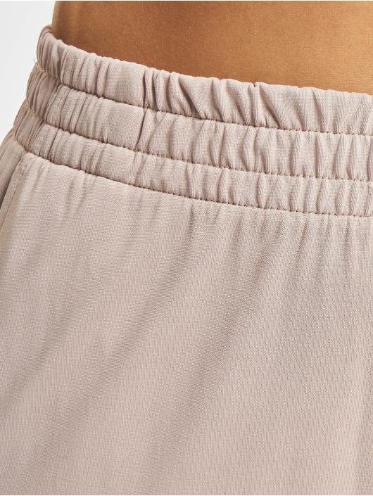 Urban Classics Spodnie wizytowe Ladies Modal rózowy