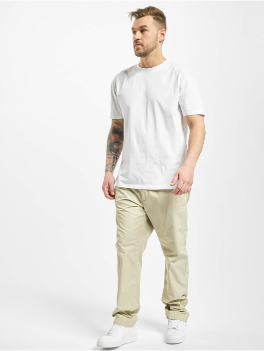 Urban Classics Stoffbukser Straight Leg beige