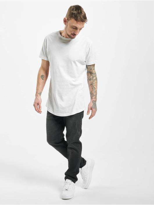 Urban Classics Straight Fit Jeans Stretch Denim schwarz