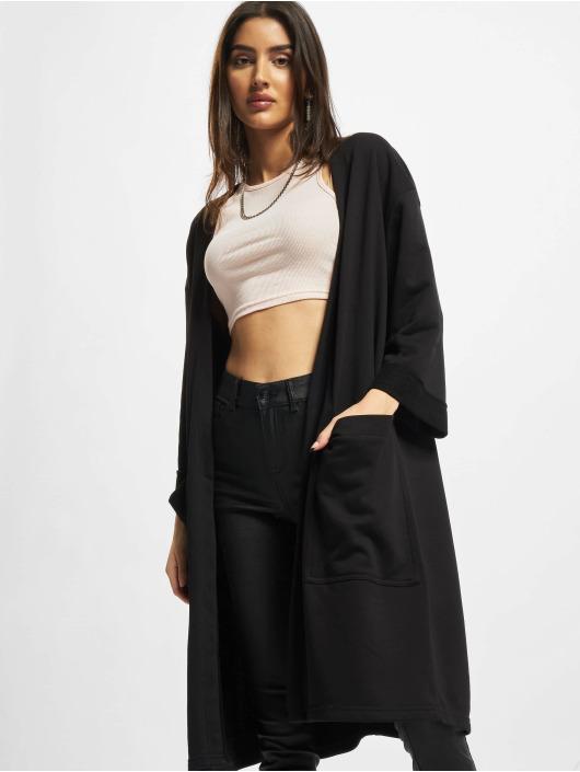 Urban Classics Strickjacke Ladies Oversized schwarz