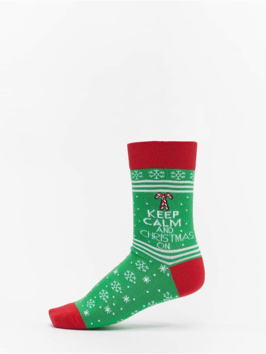Urban Classics Strumpor Christmas Lama Mix färgad