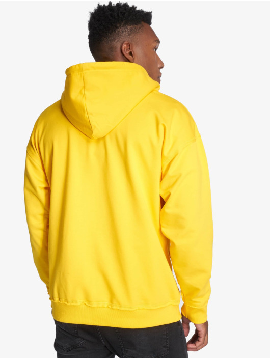 Urban Classics Sudadera Oversized Sweat amarillo