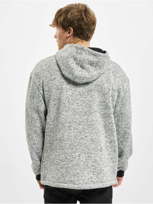 Urban Classics Sudadera Knit Fleece Pull Over gris