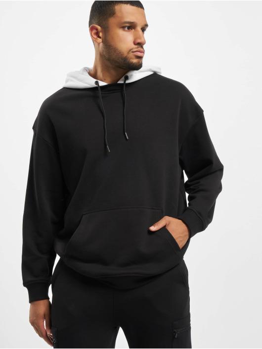 Urban Classics Sudadera Oversized Hooded Crew negro
