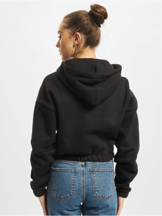 Urban Classics Sudadera Ladies Short Oversized negro