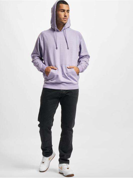Urban Classics Sudadera Overdyed púrpura