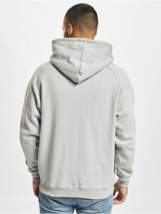Urban Classics Sudaderas con cremallera Zip gris