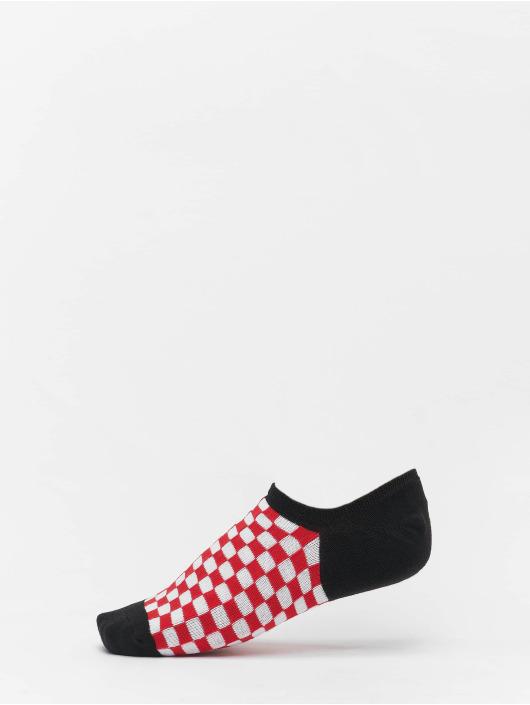 Urban Classics Sukat Recycled Yarn Check Invisible 4-Pack musta