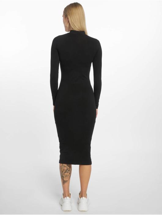 Urban Classics Sukienki Ladies Turtleneck czarny