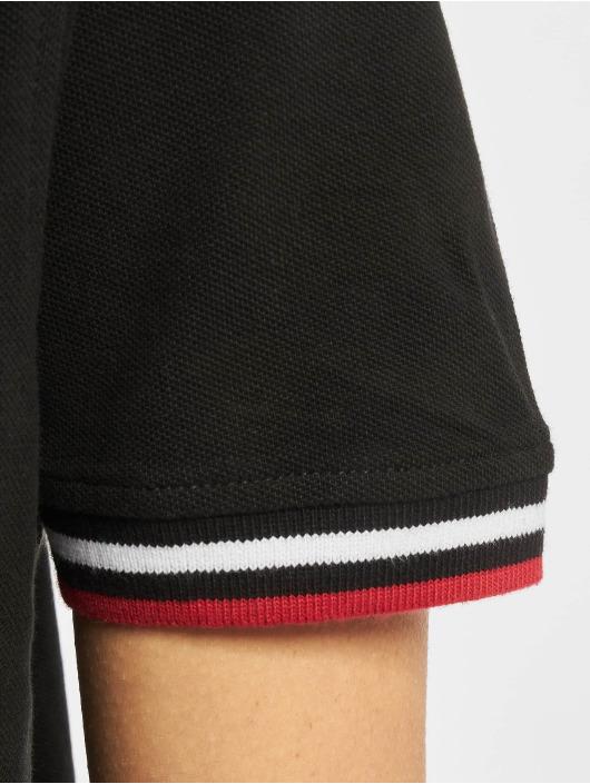Urban Classics Sukienki Polo czarny