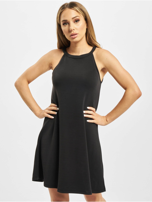 Urban Classics Sukienki Ladies Soft Interlock Loose czarny