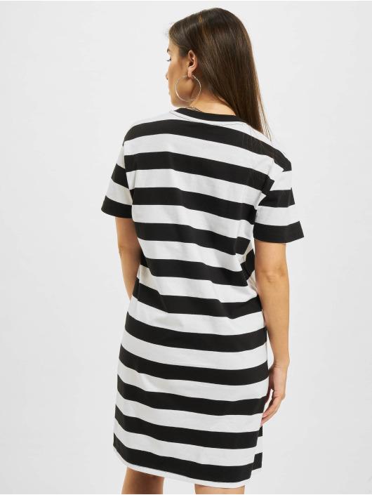 Urban Classics Sukienki Stripe Boxy czarny