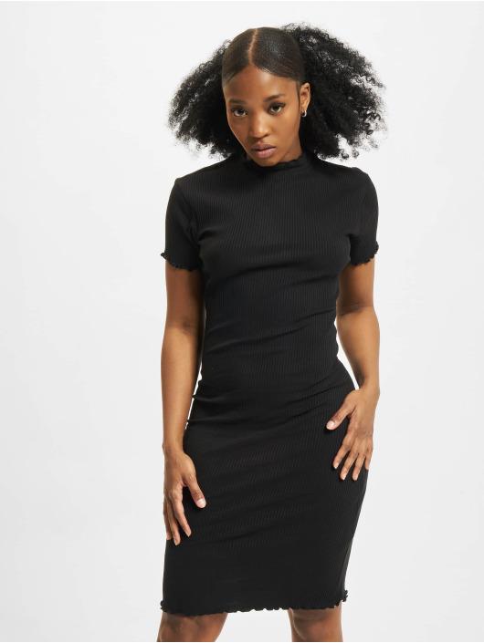 Urban Classics Sukienki Rib czarny