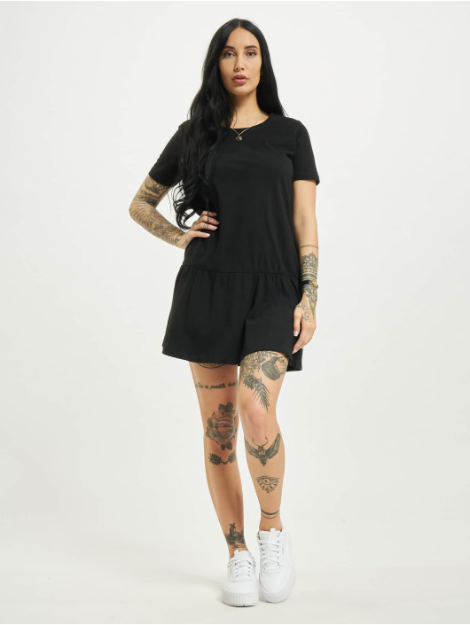 Urban Classics Sukienki Valance czarny