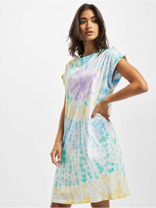 Urban Classics Sukienki Tie Dye kolorowy