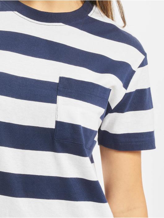 Urban Classics Sukienki Stripe Boxy niebieski