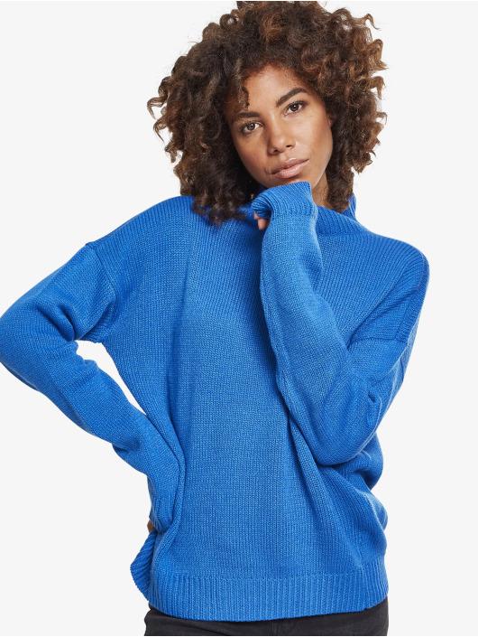 Urban Classics Svetry Ladies Oversize modrý