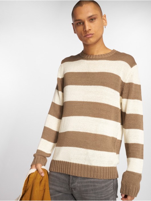 Urban Classics Sweat & Pull Striped beige