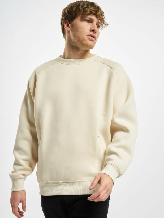 Urban Classics Sweat & Pull Raglan Zip Pocket Crew beige