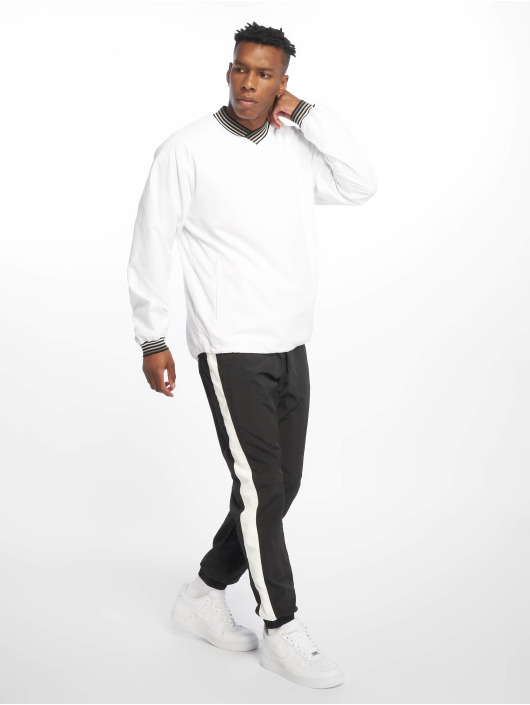 Urban Classics Sweat & Pull Warm Up blanc
