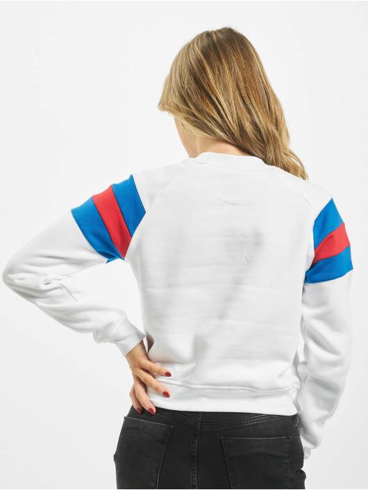 Urban Classics Sweat & Pull Sleeve Strip blanc