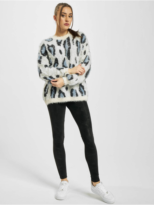Urban Classics Sweat & Pull Ladies Leo blanc