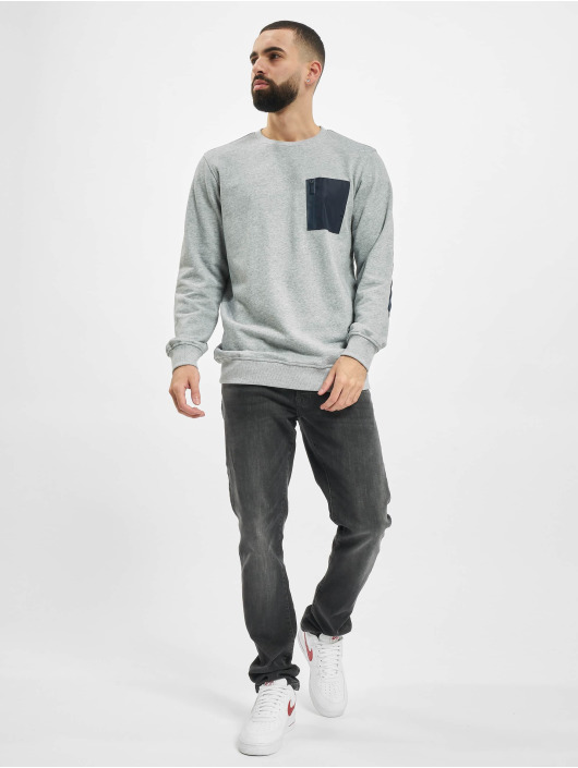 Urban Classics Sweat & Pull Military gris