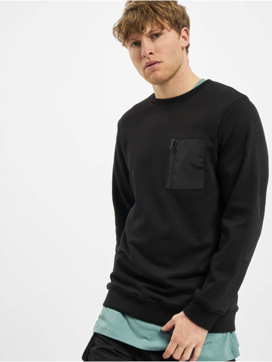 Urban Classics Sweat & Pull Military Crew noir