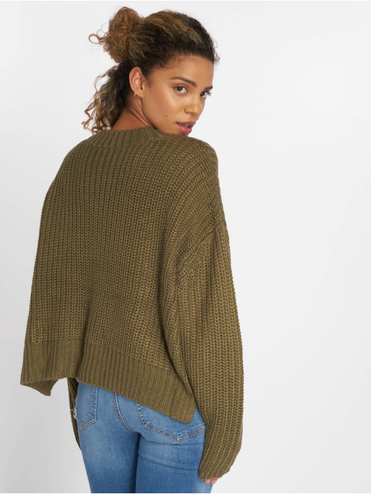 Urban Classics Sweat & Pull Wide Oversize olive