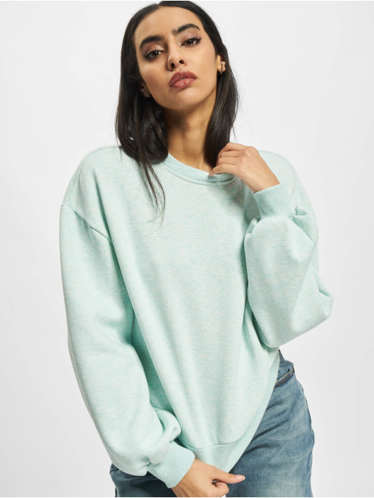 Urban Classics Sweat & Pull Ladies Oversized turquoise