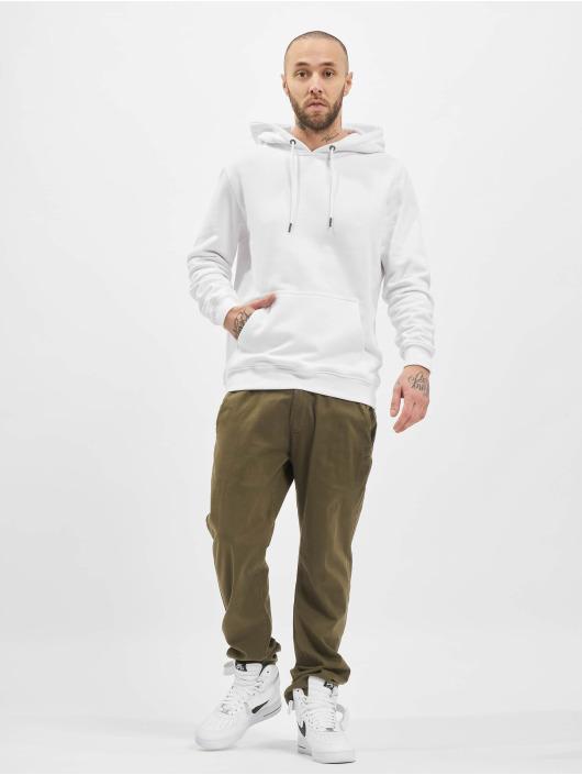 Urban Classics Sweat capuche Basic blanc