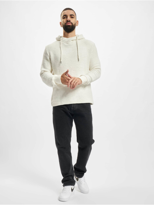 Urban Classics Sweat capuche Loose Terry Inside Out blanc