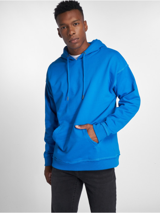 Urban Classics Sweat capuche Oversized Sweat bleu
