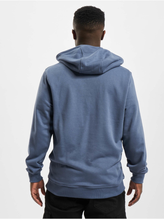 Urban Classics Sweat capuche Basic Terry bleu