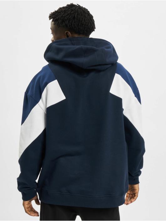 Urban Classics Sweat capuche Oversize 3-Tone bleu