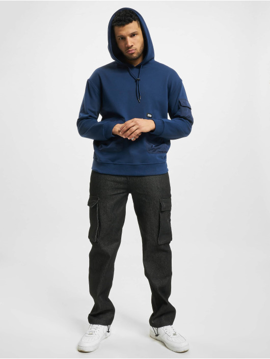 Urban Classics Sweat capuche Commuter bleu