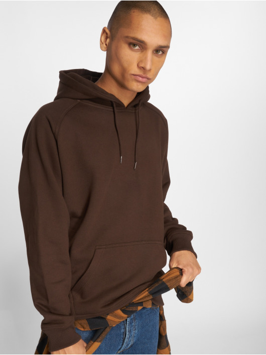 723afc93c8f1d Urban Classics   Blank brun Homme Sweat capuche 32967