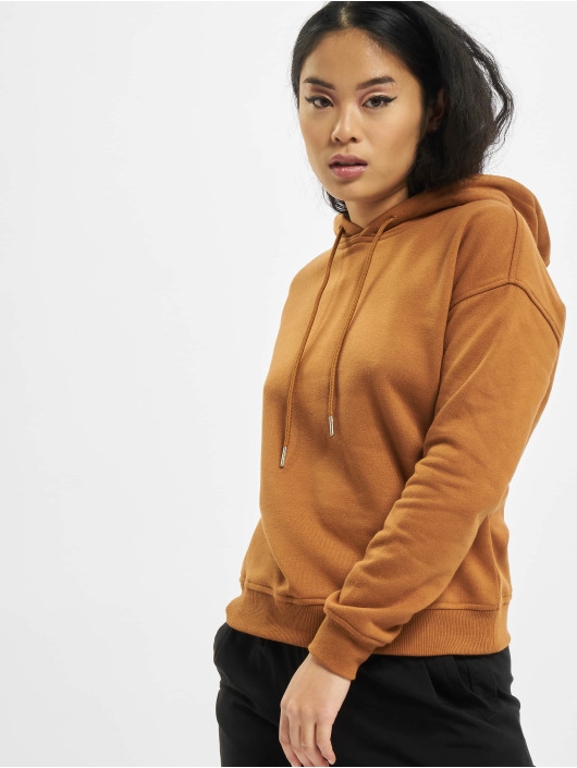 Urban Classics Sweat capuche Ladies brun