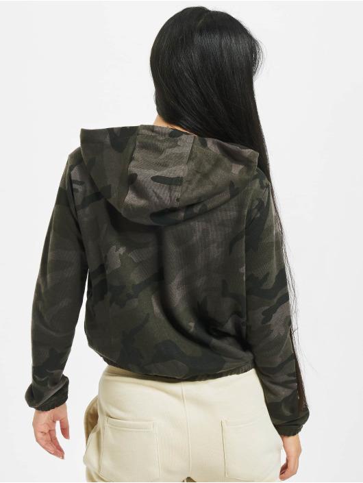 Urban Classics Sweat capuche Camo Cropped camouflage