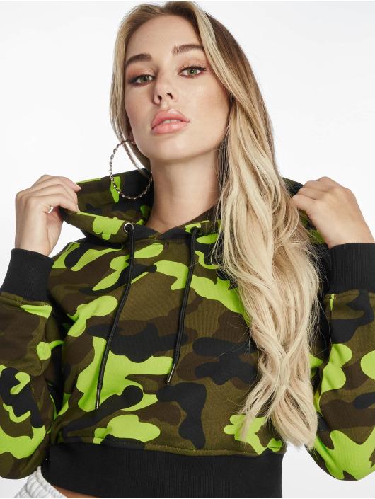 Urban Classics Sweat capuche Cropped Camo camouflage