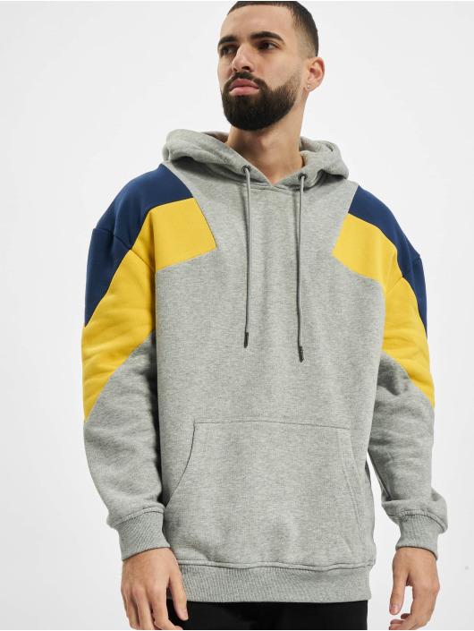 Urban Classics Sweat capuche Oversize 3-Tone gris