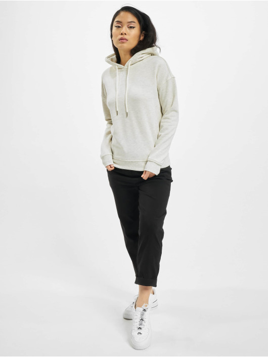 Urban Classics Sweat capuche Ladies gris