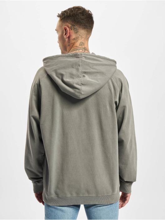 Urban Classics Sweat capuche Overdyed gris